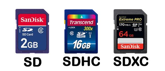 SD kart özellikleri