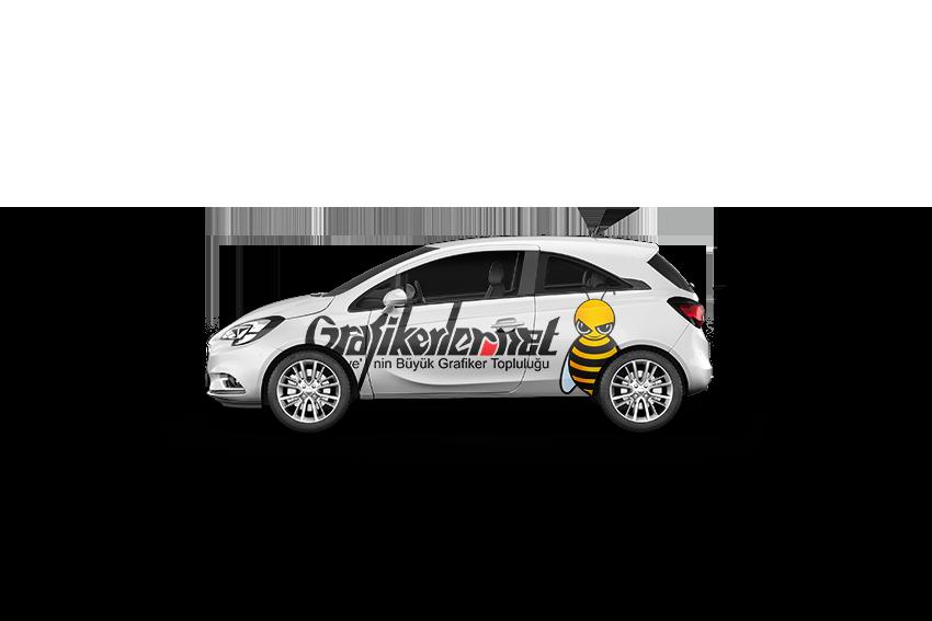 Opel Corsa Mockup