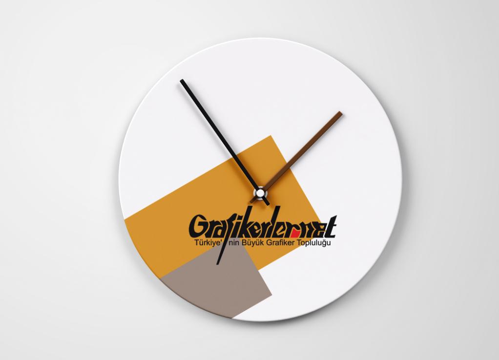 Saat Tasarımı Mockup