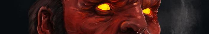 Hellboy Dijital Çizim