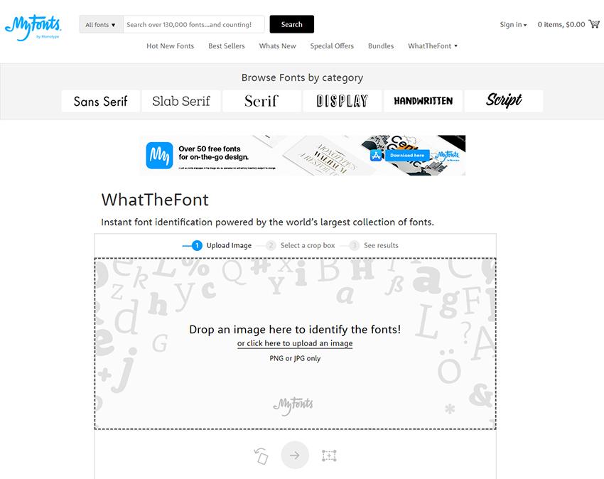 Font bulma sitesi
